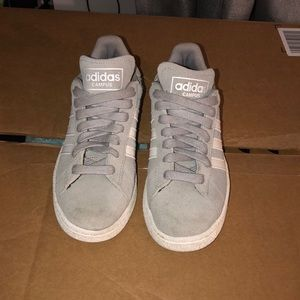 adidas Shoes - Adidas Campus Gray Suede size 6.5 gently worn